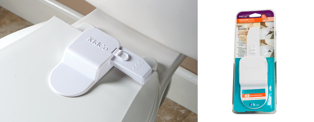 Kidco toilet seat lid lock for babyproofing your home