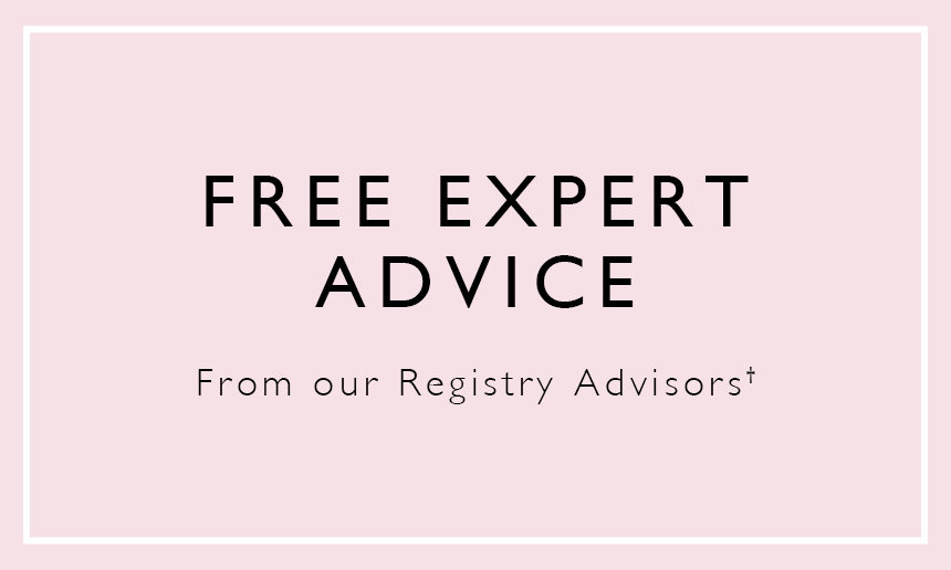 Baby Registry Perk - Free Expert Advice