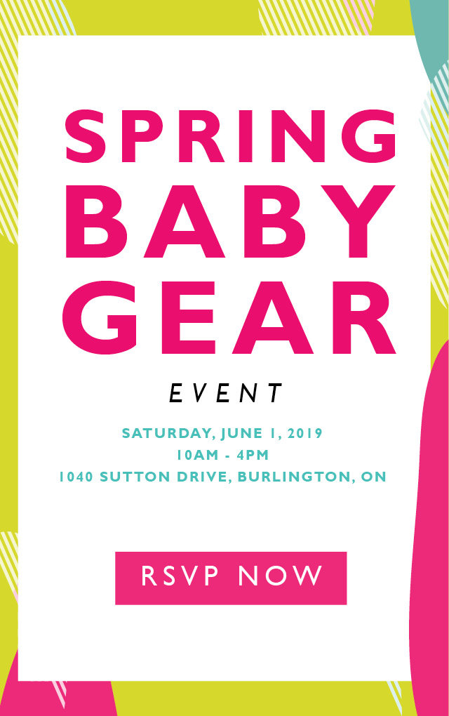 Spring Baby Gear Event