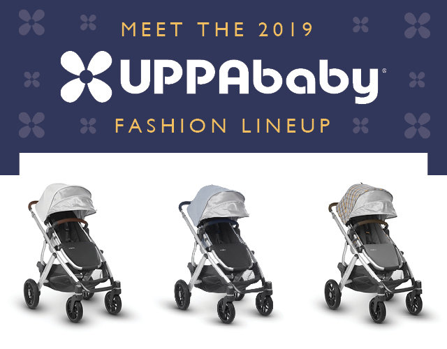 UPPAbaby Vista 2019 Fashion Line-Up