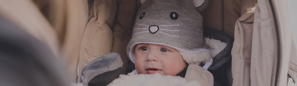Kombi Infant Animal Winter Hat