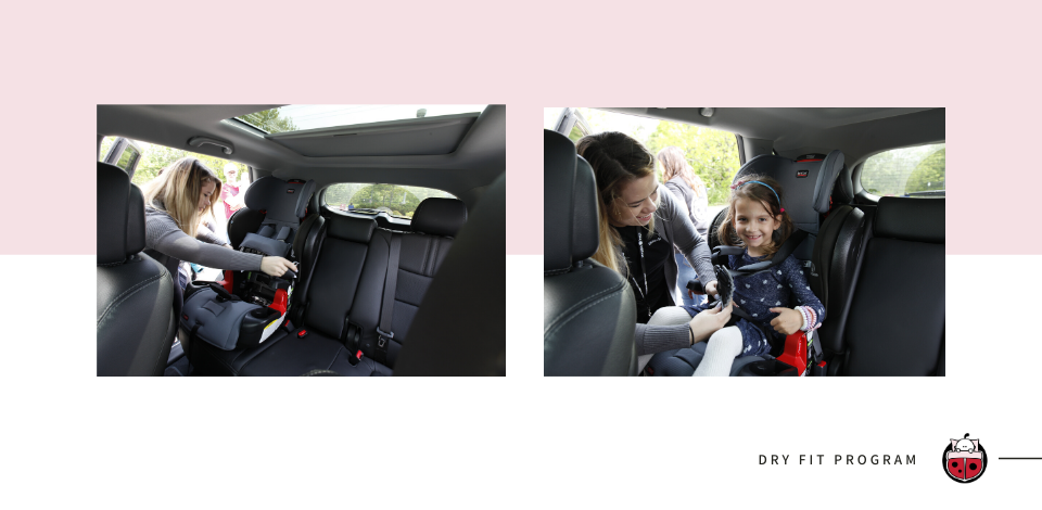Snuggle Bugz Dry Fit Car Seat Program