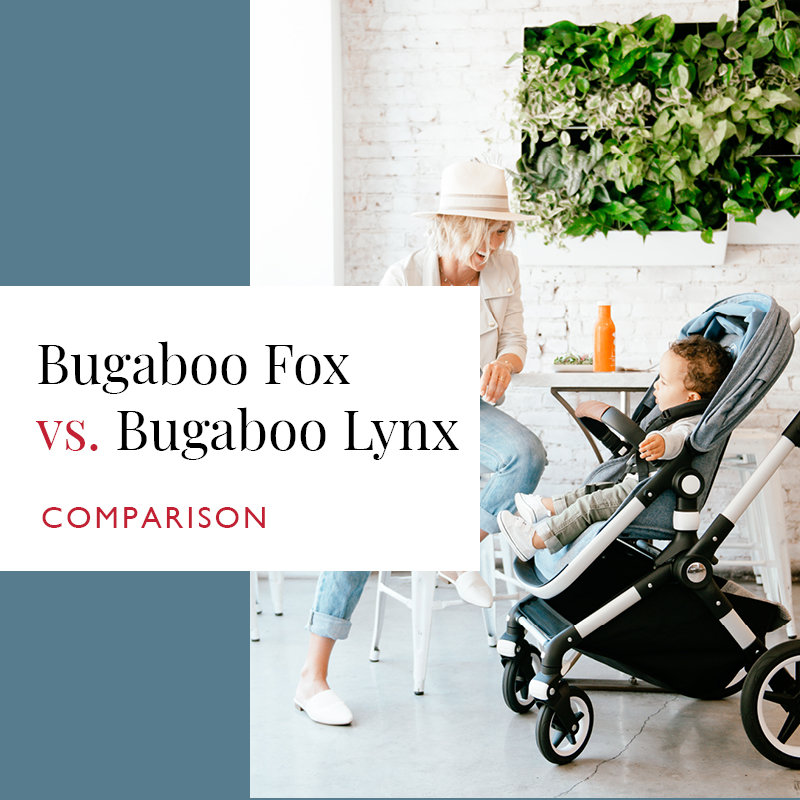 Bugaboo Fox vs Bugaboo Lynx Comparison