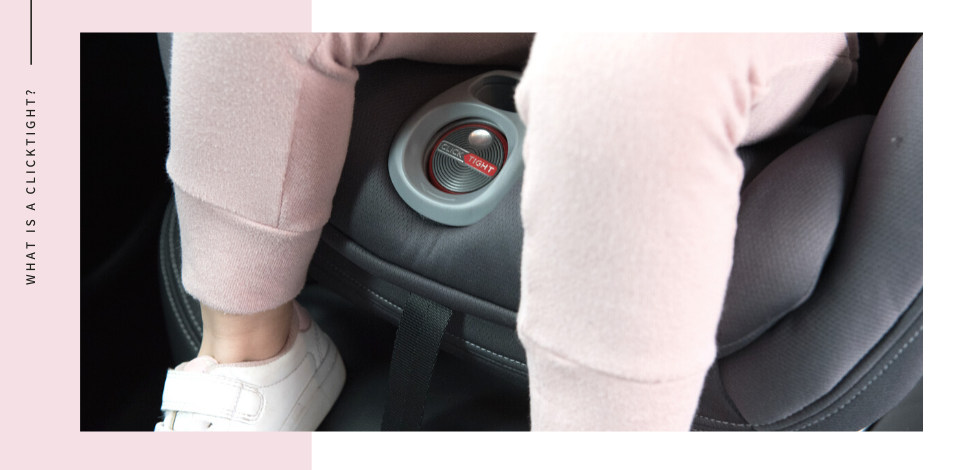 Britax ClickTight Car Seat Safety Feature