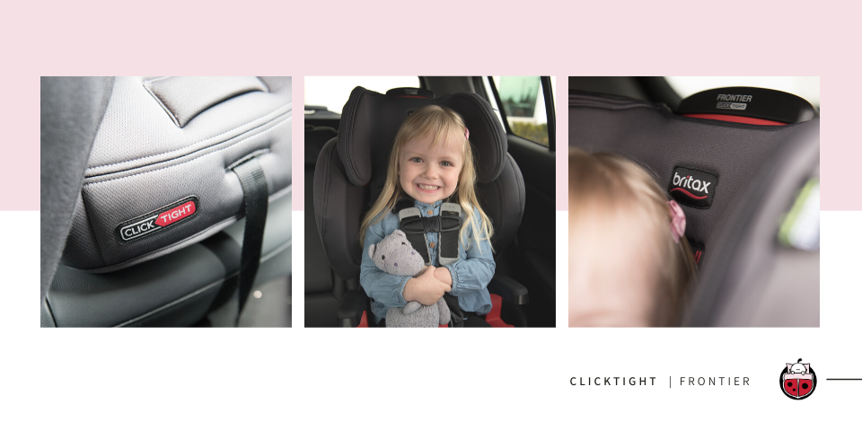Britax Frontier CickTight Booster Car Seat Product Shots