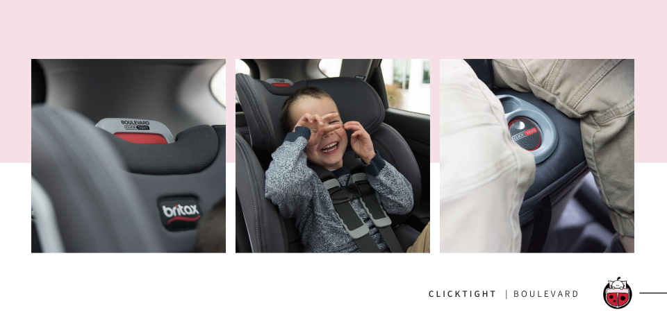 Britax Boulevard ClickTight Car Seat Product Shots