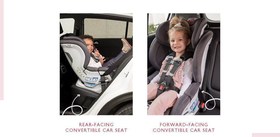 rear facing and forward facing car seat