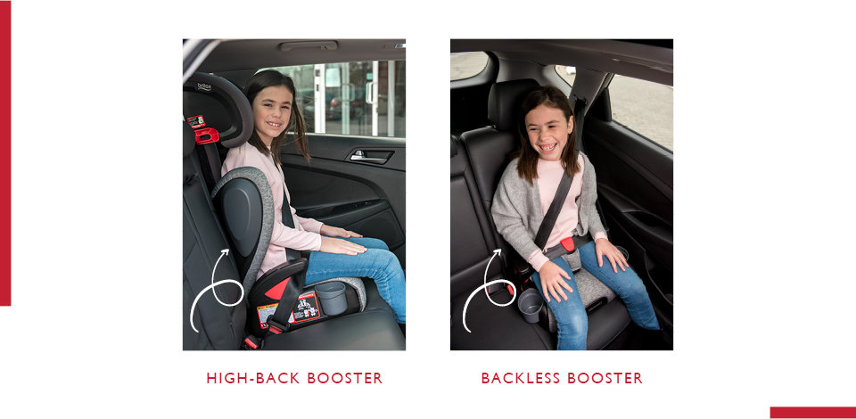 high back vs backless booster seat