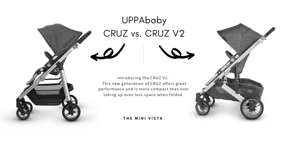 UPPAbaby CRUZ vs. CRUZ V2 in Jordan Fashion