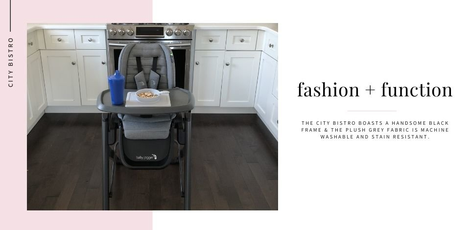 Baby Jogger City Bistro High Chair Fashion Feature