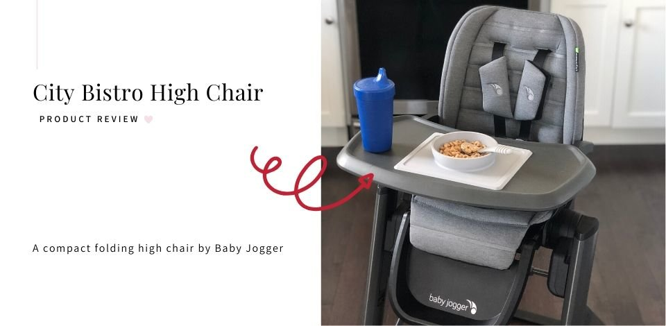 Baby Jogger City Bistro High Chair Product Review