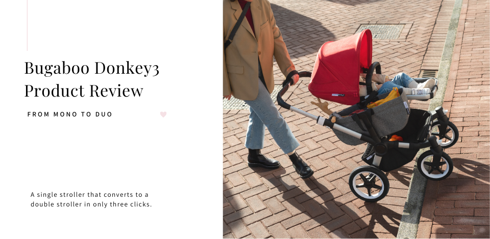 Bugaboo Donkey3 in red Product Review
