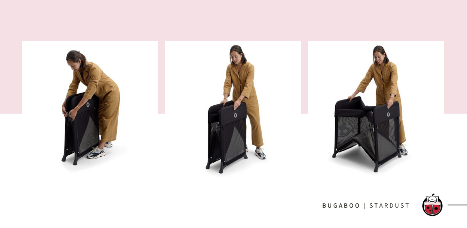 Bugaboo Stardust set-up