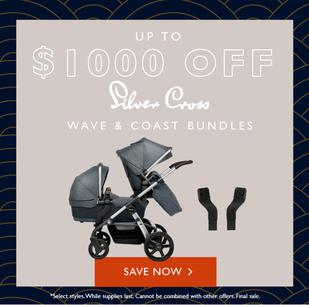 Silver Cross Wave & Coast Stroller Bundles