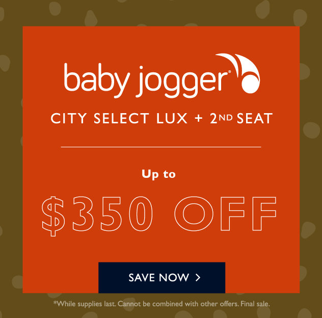 Baby Jogger City Select LUX + Second Seat