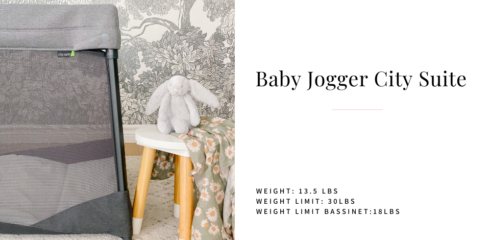 Baby Jogger City Suite with bunny