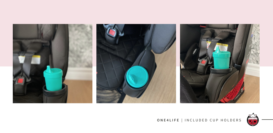 Britax One4Life included cupholders