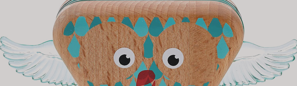 Wooden owl toy by Fisher-Price