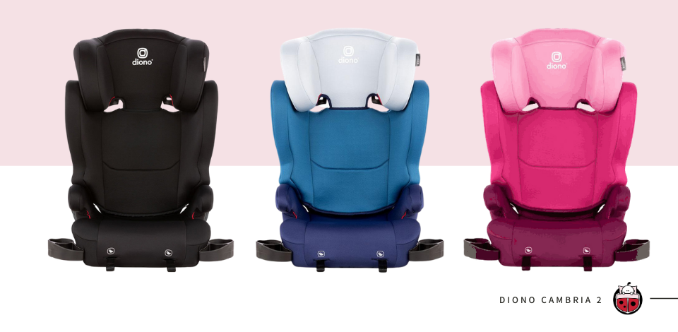 Diono Cambria 2 Booster Seats affected in the recall