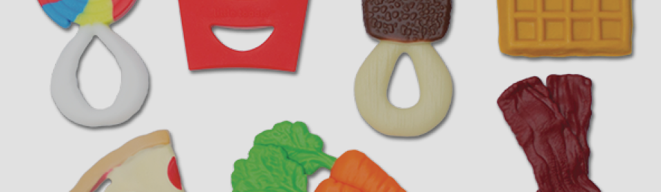 AppeTEETHER food teethers by little toader