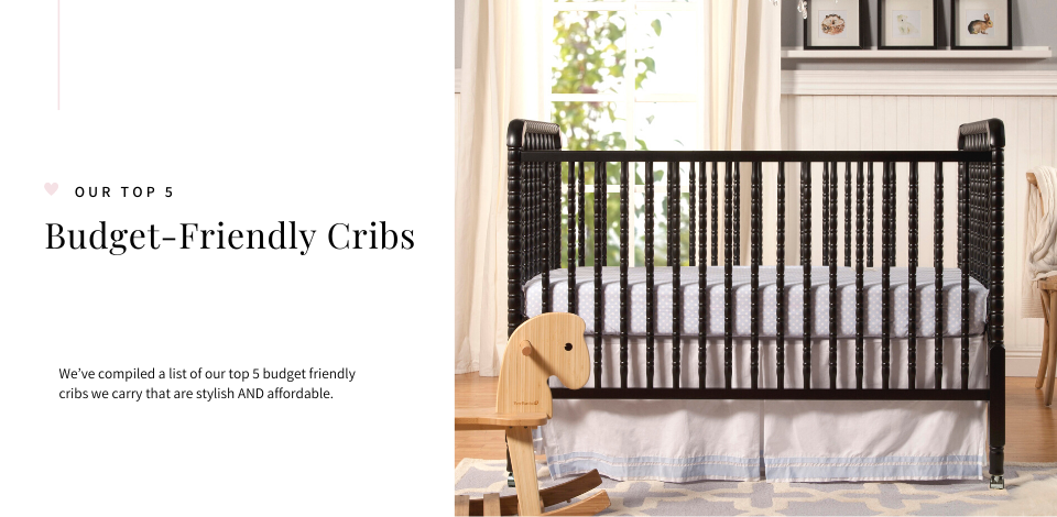 The Jenny Lind 3-in-1 Crib by DaVinci Baby