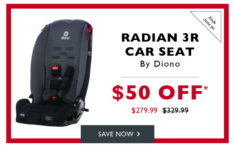 $50 off Radian 3R Car Seat by Diono