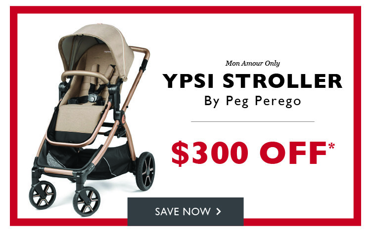 $300 off Peg Perego YPSI Stroller in Mon Amour