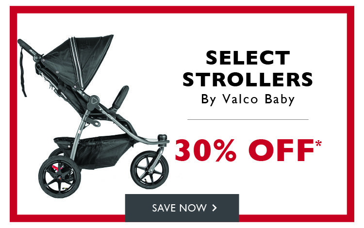 30% off select Valco Baby Strollers