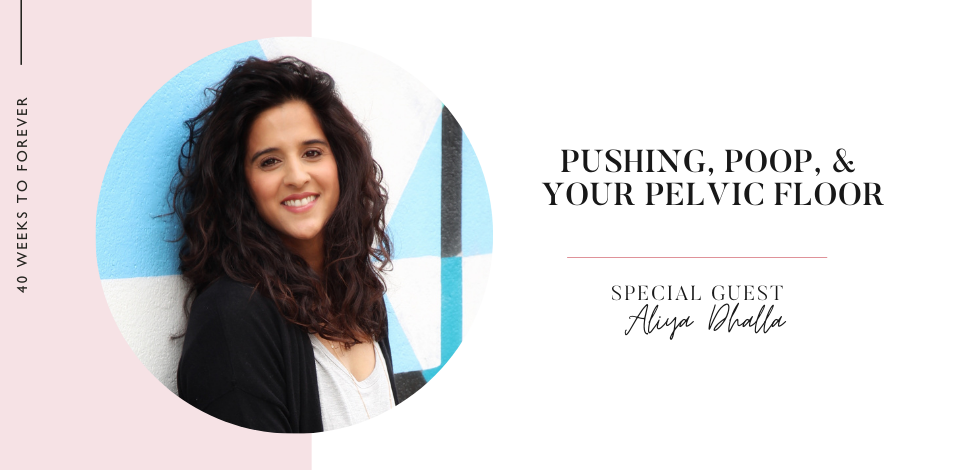 Aliya Dhalla guest on the 40 Weeks to Forever Podcast