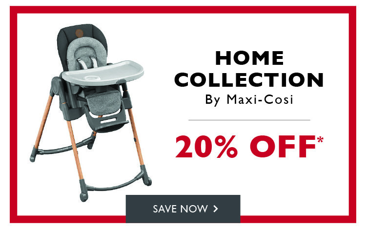 20% off maxi-cosi home collection