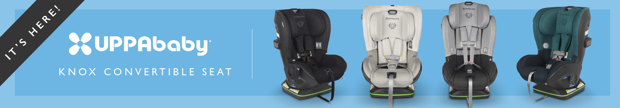 UPPAbaby KNOX Convertible Car Seat Available in Canada