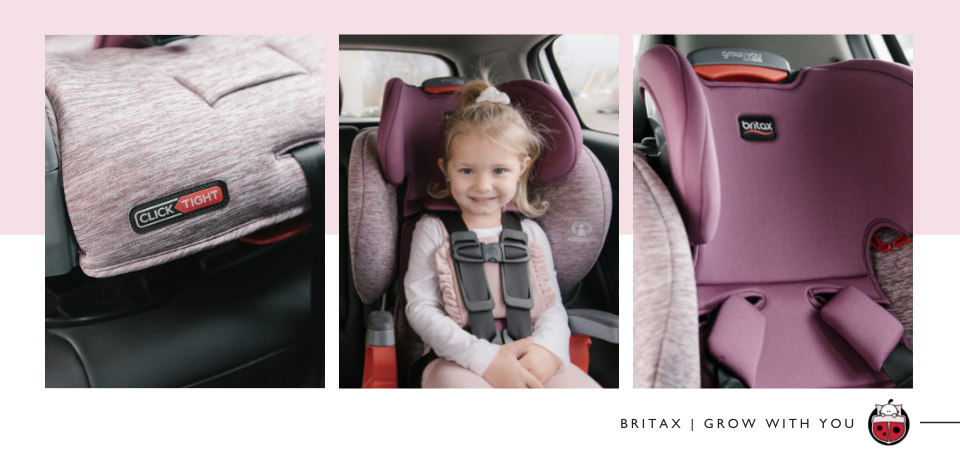 Britax Grow With You CickTight Car Seat Product Shots