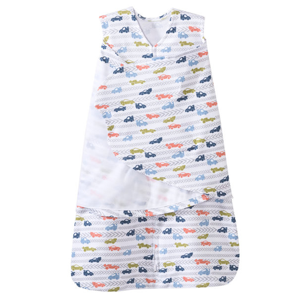 View larger image of 100% Cotton Swaddle Race Track