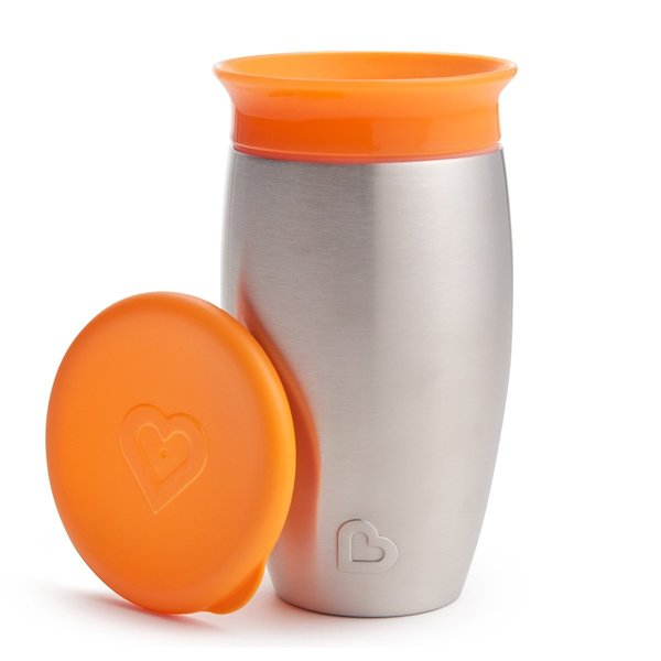 View larger image of Miracle Stainless Steel 360 Degree Sippy Cup - 10oz