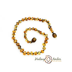 11 inch Amber - Olive Circle