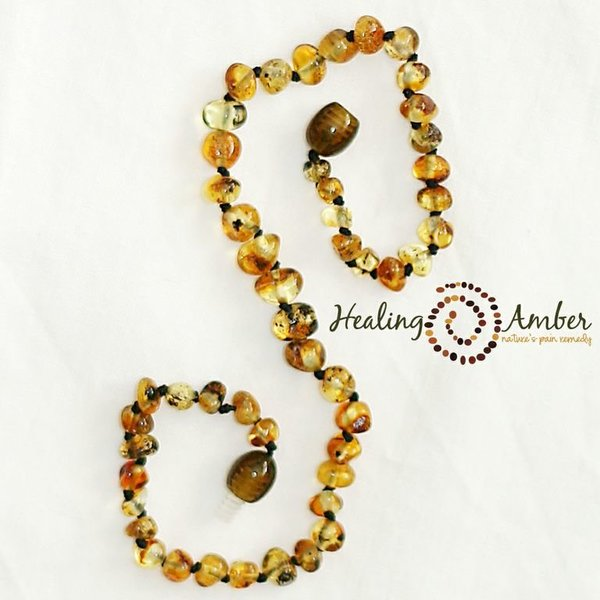 View larger image of 11 inch Amber - Olive Circle