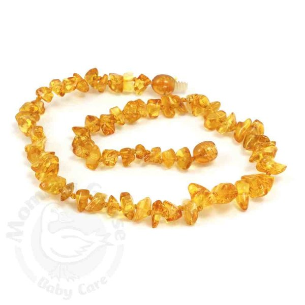 "View larger image of 11"" Amber Teething Necklace"