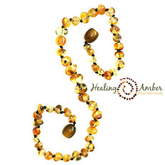 13 inch Amber Olive Circle