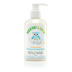 Baby Shampoo & Body Wash - Unscented - 237 mL