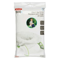 2-in-1 Go Potty Refill Bags - 30 pack