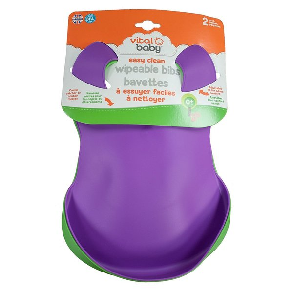 View larger image of Easy Clean Soft Bibs