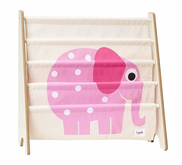 View larger image of 3Sprouts Book Rack - Pink Elephant