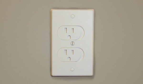 View larger image of Self-Closing Outlet Cover - 3 Pack - White