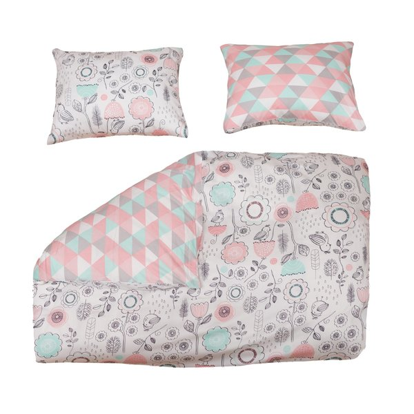 View larger image of 3pc Full/Queen Duvet Set - Sparrow