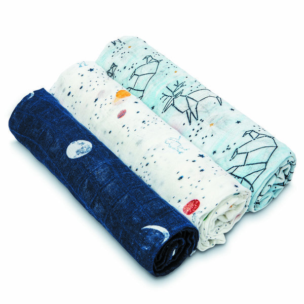 View larger image of 3pk Swaddle-Stargaze