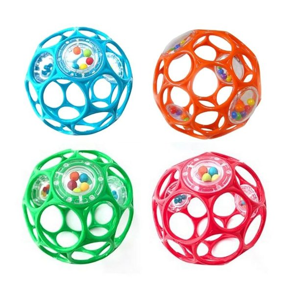 """View larger image of 4"""" Oball with Rattles"""