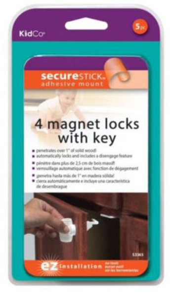 View larger image of 4 Magentic Locks With Key