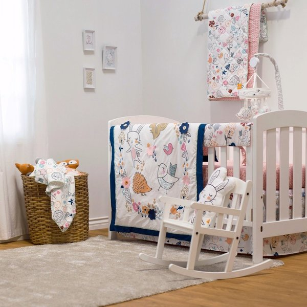 View larger image of 4 Piece Crib Set - Stella