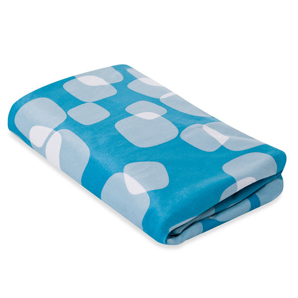 View larger image of Breeze Bassinet Sheet - Blue