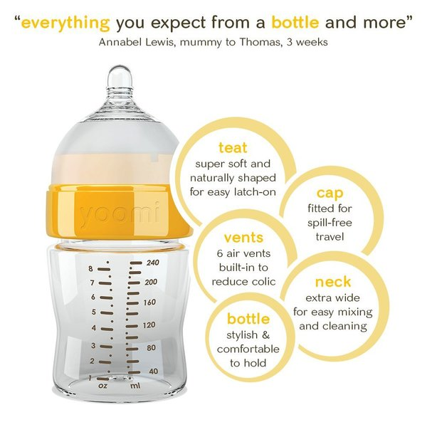 View larger image of Yoomi Easi-Latch Bottle With Warmer